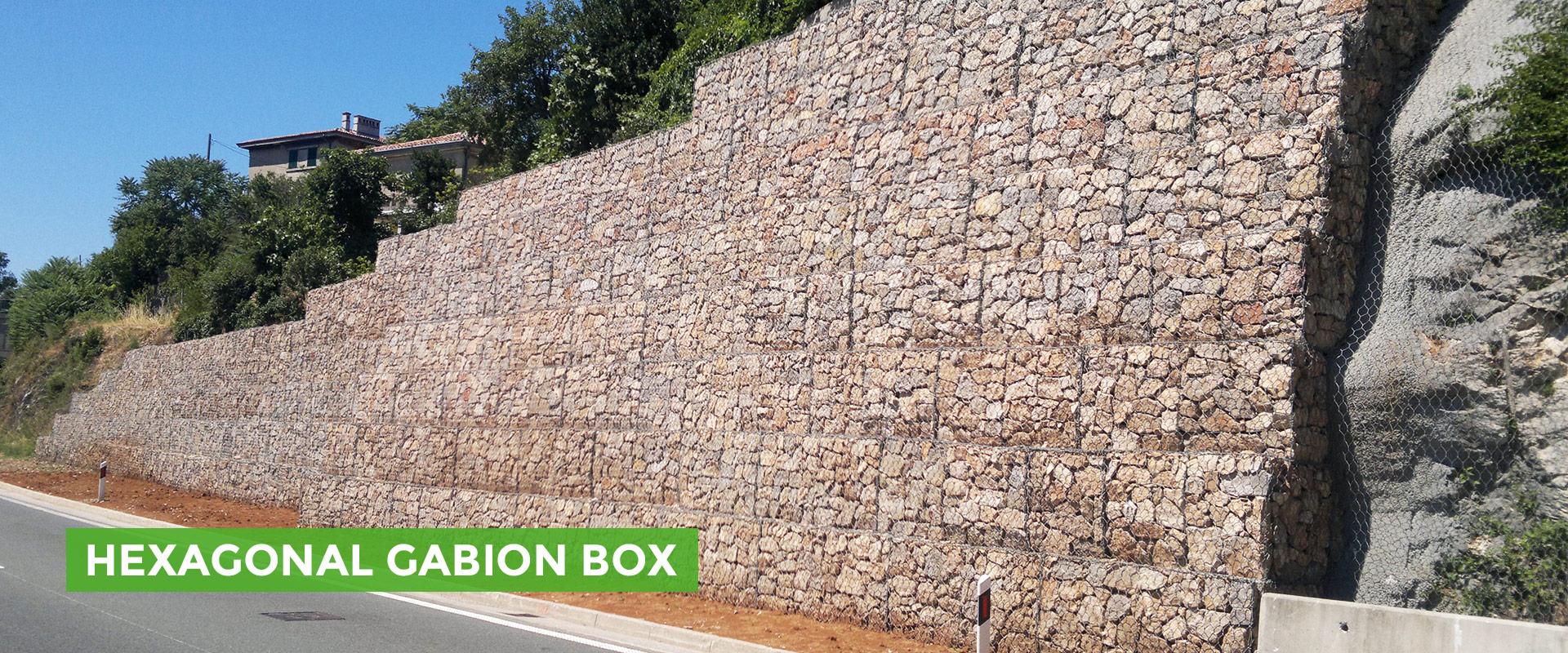 Hexagonal Gabion Box